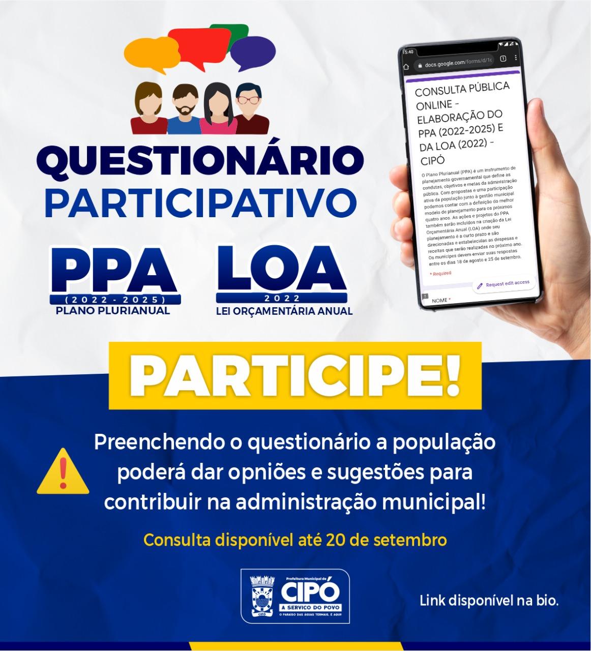 Imagem banner do PPA